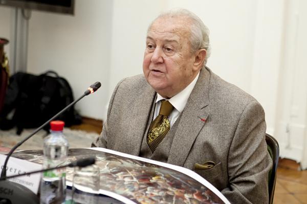 Петр Козорезенко. Заседание Президиума РАХ