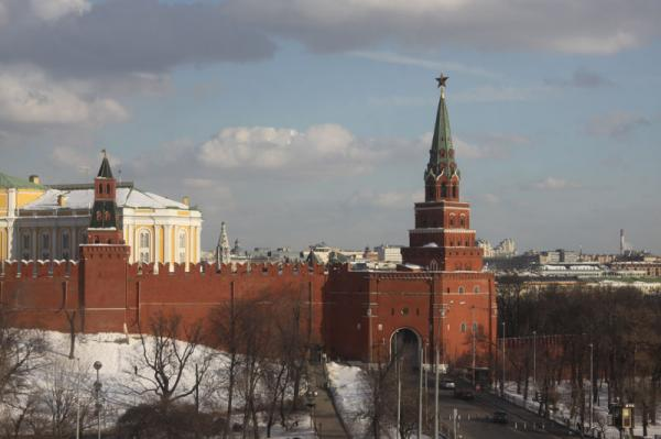 Петр Козорезенко. Кремль