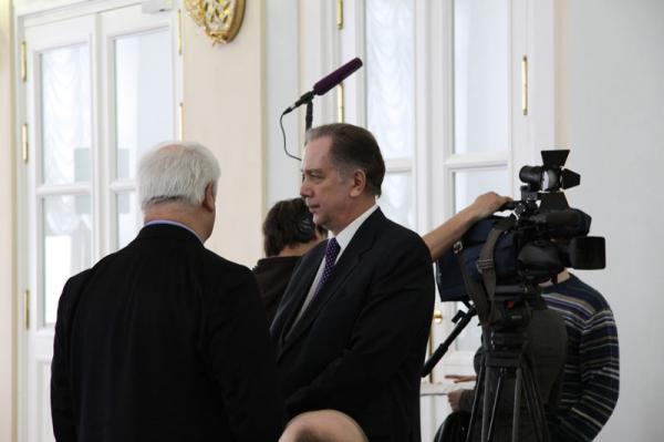 Петр Козорезенко. Бывший министр культуры А.С.Соколов