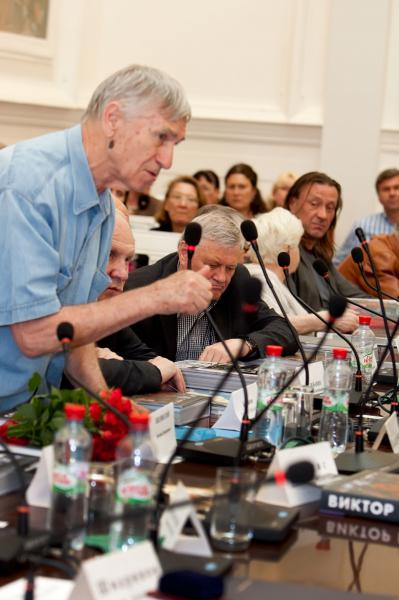 Петр Козорезенко. Презентация книги в Российской Академии художеств
