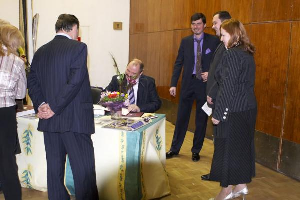 Петр Козорезенко. ЦДХ. 2008 год.зал №8,9