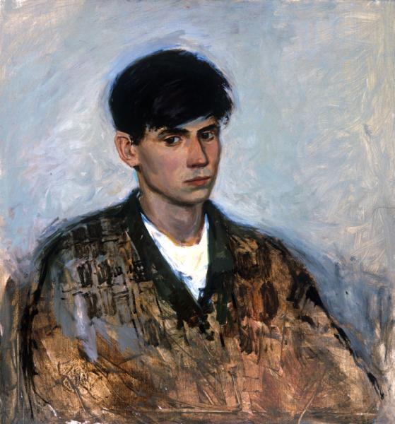 Петр Козорезенко. Автопортрет.